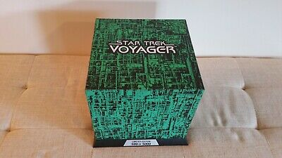 Star Trek Voyager numbered boxed set - 7 seasons in Borg Cube collector case