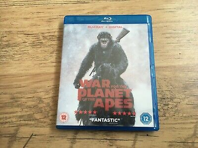 War For The Planet Of The Apes...blu Ray.