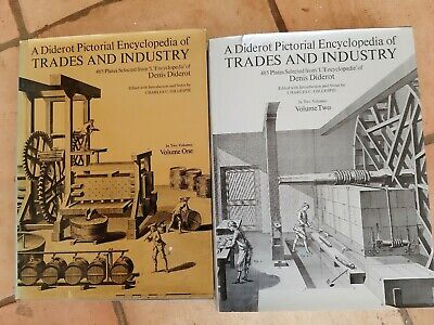 A Diderot Pictorial Encyclopedia Of Trades And Industry 2 Volumes
