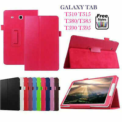 Smart Magnetic Leather Flip Stand Case Cover For SAMSUNG TAB T590 T580 T510 T515