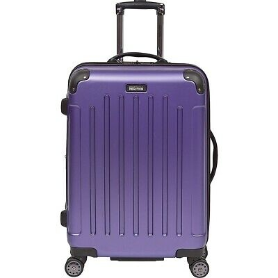 """Kenneth Cole Reaction Renegade 24"""" Expandable 8-Wheeled Upright Pullman (Purple)"""