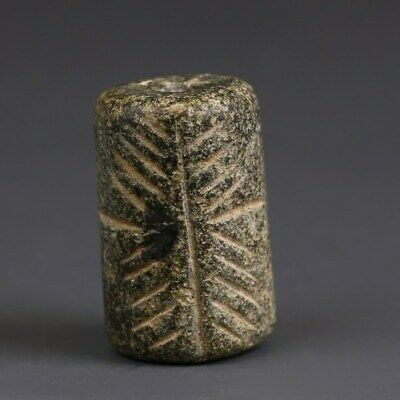 Near Eastern Cylinder Seal with Geometric Design