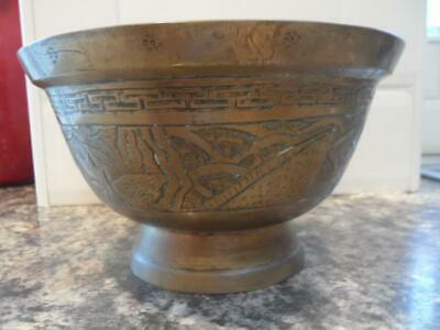 Antique Bronze Chinese Censor Bowl Xuande period Marks