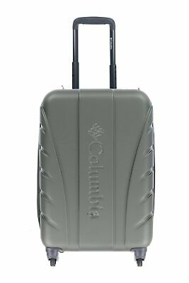 """Columbia 159436 Hardside Spinner Olive Green 20"""" Carry On"""