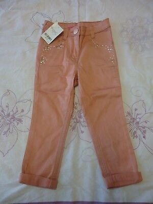 Next girls embellished chinos trouser 3Y NWT