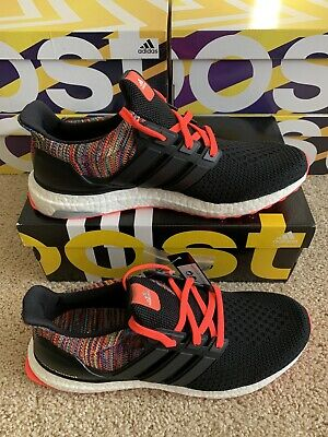 Details about Adidas Ultra Boost Clima Cool Black Glow Solar