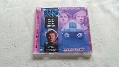 Dr Who Return Of The Krotons Cd Audio Book