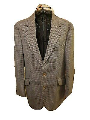 Vintage Burberry London Dog tooth Mens Blazer
