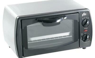 Team OT9 1000 Watt Electric Mini Oven in Brushed Stainless Steel