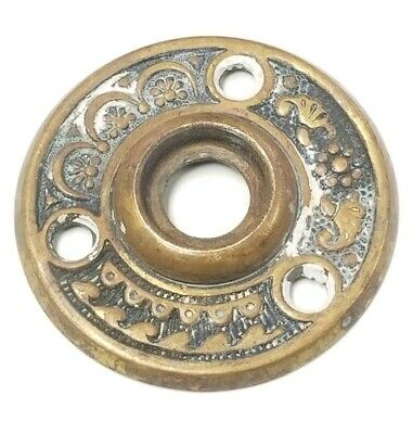 Antique Ornate Eastlake Rosette Door Knob Hardware