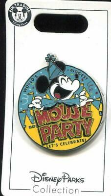 Disney Parks Mickey Mouse 90th World's Biggest Mouse Party Trading Pin ~ NEW