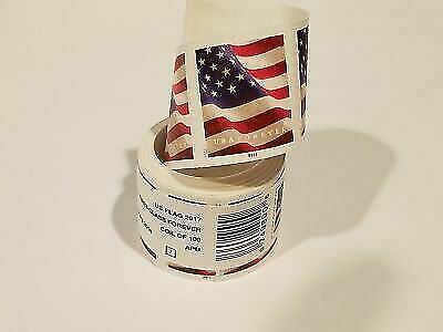 USPS US Flag 2017 Forever Stamps - Roll of 100 New