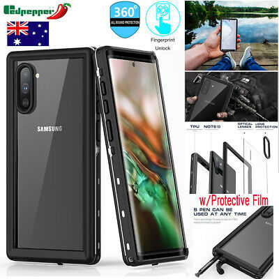 Fr Samsung Note 10+5G/S10/S10+  Full Protective Waterproof Shockproof Cover Case