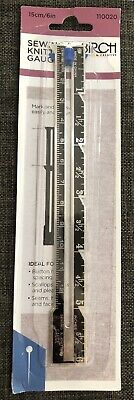 Birch  - 15cm Sewing and Knitting Gauge