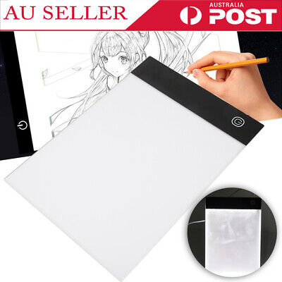 A5 Artcraft Tracing Light Pad Box Drawing Board Stencil Dimmable Art Painting