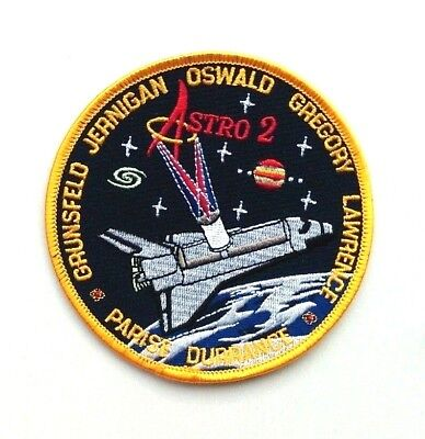 NASA Space Shuttle Mission STS-67 Endeavor > Astronauts embroidered patch