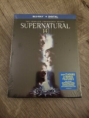 Supernatural - The Complete 14th Season (Blu-ray / digital, 2019)