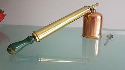 Brass & Copper Garden Sprayer. All Polished And Ready To Go. Looks Good !