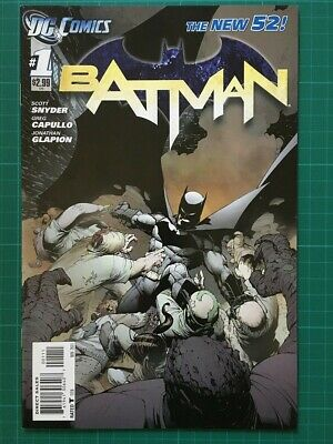 Batman New 52 Issues #1-17, #19-23, #0. Court of Owls, Death of the Family.