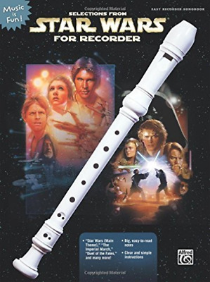Williams, John (Com)-Selections From Star Wars For Recorder BOOK NEW