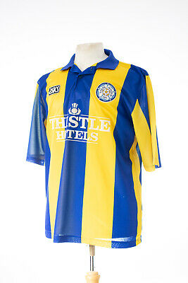 Leeds United Early 1990'S Asics Away Replica Football Shirt Xl