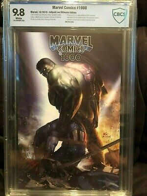 MARVEL COMICS #1000 Inhyuk Lee CBCS 9.8 Ultimate Edition Limited to 250 🔥 🔥🔥