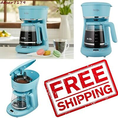 NEW 12-Cup Coffee Maker Programmable, Arctic Blue