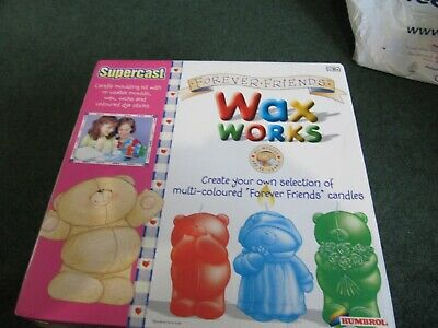 Supercast Forever Friends Wax Works candle making kit