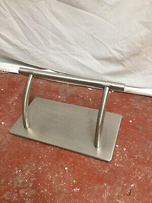 Salon Tattoo Hairdressing Stainless Steel Footrest Foot Rest Barbers