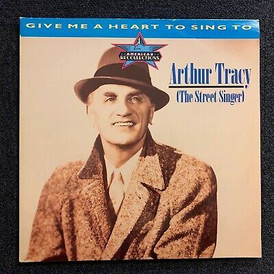Dbl Lp - Arhur Tracey (The Street Singer) - Give Me A Heart To Sing (1986) Ex+