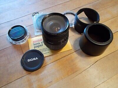 SIGMA Compact Hyperzoom 28-300mm 1 : 3.5-6:3 Lens w/accessories