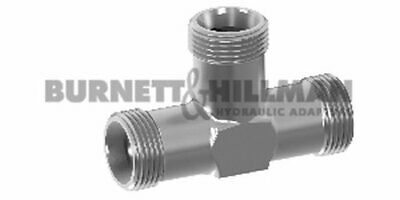 METRIC Male Tee (S Series) BODY ONLY - Hydraulic Compression Fitting