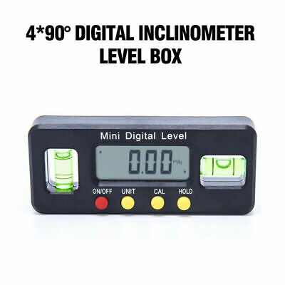 Magnet Digital Inclinometer Level Protractor Angle Finder Bevel Gauge ABS Parts