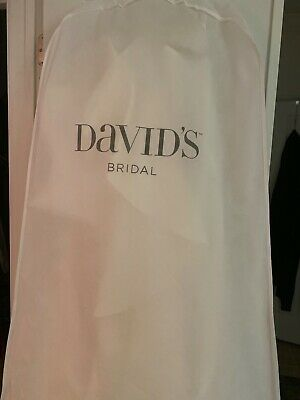 David's Bridal Wedding Gown dress size 22W, Ivory with Corset back