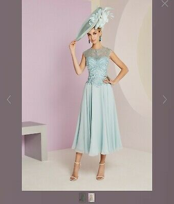 Veni Infantino by Ronald Joyce, mother of the bride outfit and hat, size 12