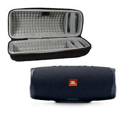 JBL Charge 4 Waterproof Wireless Bluetooth Speaker Bundle with Portable Hard Cas