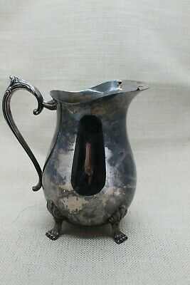 Silver-Plated Pitcher