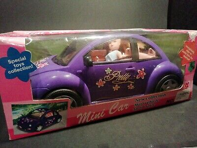 Purple Beetle car With Doll