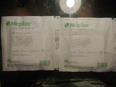 Mepilex 4x4 With Safetac Technology Lot or 2