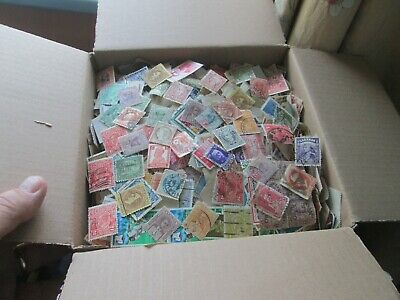Box with 200 grams+ of stamps many,many hundreds-Read all below descriptions.