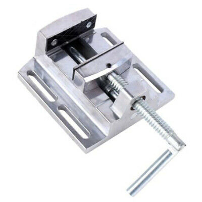 Flat Mouth Pliers Press Holder Drill Clamp Double Track Aluminum Alloy Accessory