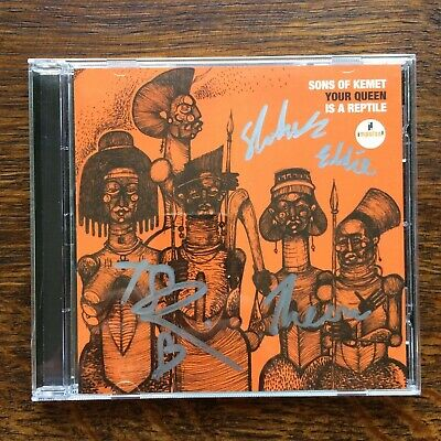 Sons Of Kemet Your Queen Is A Reptile Signed Cd