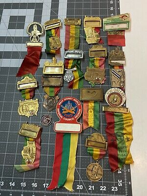 Nice Lot Of Vintage Shriner Name Badges...LQQK!
