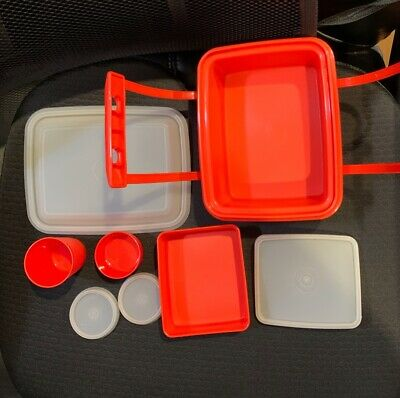 Tupperware Pack n Carry Childs Mini Lunchbox Set-Adorable