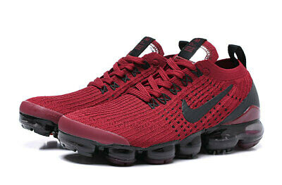 Nike Men's Air Vapormax Flyknit 3   2019 Men's Running Trainers Shoes Red