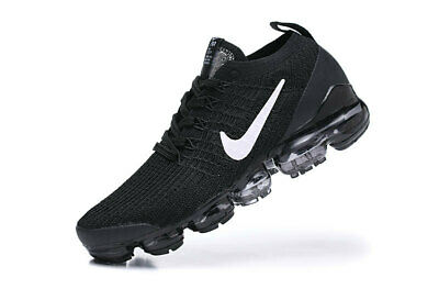 Nike Men's Air Vapormax Flyknit 3   2019 Men's Running Trainers Shoes Black
