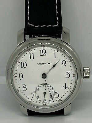 Waltham 16s 17 jewel pocket watch conversion to Wristwatch