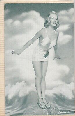 PENNY EDWARDS & JANIS PAIGE - starlets  PIN-UP/CHEESECAKE  1950s ARCADE/EXHIBIT