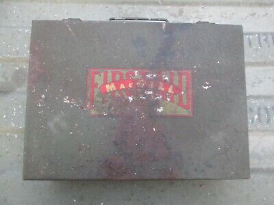 1-61-5 Authentic WWII WW2 Metal First Aid Kit Bandage Medic Supply Box
