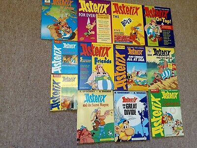Asterix 12 X Comic Books